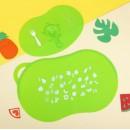 """Набор детский для кормления, 2 предмета: коврик нескользящий для стола, подставка с присосками для тарелки """"Крошка Я"""" с 5 мес. (арт. 1886925)"""