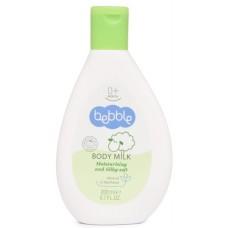 Молочко для тела увлажняющее и смягчающее Bebble с маслом оливы и пантенолом 0+
