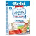"""Каша Bebi Premium """"Гречневая с козьим молоком, обогащенная пребиотиками"""" с 4 мес."""