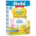 Каша Bebi Premium фруктово-злаковое ассорти с 6 мес. (мол.)