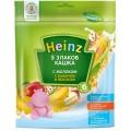 Каша Heinz 5 злаков с бананом и яблоком с 6 мес. (мол.)
