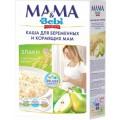 Каша молочная для беременных и кормящих мам Mama & Bebi Premium Злаки с кусочками груши