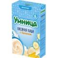 """Каша """"Умница"""" овсяная с бананом с 6 мес. (мол.)"""