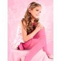 Колготки для девочки Conte Alisa (Fantasy) (цвет - розовый Pink)