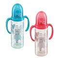 Бутылочка Happy Baby с двумя силиконовыми сосками (пластик) (арт. 10005)
