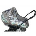 Дождевик на детскую коляску большую, универсальный (арт. М-21)