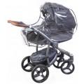 Дождевик на детскую коляску, универсальный Бим-Бом (плотность 80 мкм) (арт. М-21/3)