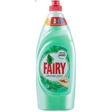 Гель для мытья посуды Fairy Нежные руки Чайное дерево и мята