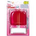 Очиститель для унитаза подвесной Туалетный утенок 4 в 1 Свежесть лепестков