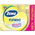Туалетная бумага Zewa Плюс Ромашка 2 слоя