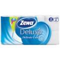 Туалетная бумага Zewa Deluxe белая 3 слоя