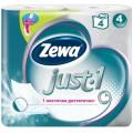 Туалетная бумага Zewa Just-1 4 слоя