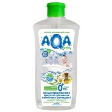 Концентрированное средство для мытья ванночек AQA baby с ромашкой