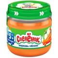 Пюре Спеленок Морковь с яблоком с 5 мес. (б/сах.)