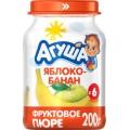 """Пюре """"Агуша"""" Яблоко-банан с 6 мес."""