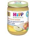Каша Hipp цельный рис-фрукты с 5 мес.