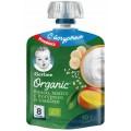 Пюре Gerber банан-манго-злаки-йогурт с 8 месяцев