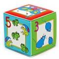 """Игрушка кубик с пищалкой """"Учимся считать"""" """"Курносики"""" (арт. 27077)"""