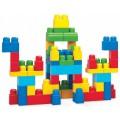 """Конструктор Mega Bloks """"First Builders"""" Большая сумка строителя - 60 деталей (арт. DCH55)"""