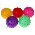 Мячик массажный, цветной, матовый (диаметр 14 см.) (арт. 276037)