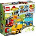 Конструктор LEGO DUPLO Мои первые машинки (арт. 10816)