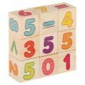 """Кубики деревянные """"Цифры"""" Лесная мастерская, набор 9 шт. (арт. 1409977)"""