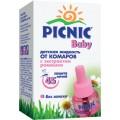 """Жидкость от комаров с экстрактом ромашки """"Picnic Baby """" 45 ночей"""