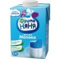 Молоко ФрутоНяня 2,5% с 3 лет