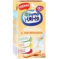 Молочный коктейль ФрутоНяня «Молоко с печеньем» 2,4% с 12 мес.