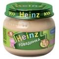 Пюре Heinz Говядинка с 6 мес.
