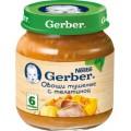Пюре Gerber Овощи тушеные с телятиной с 6 мес.
