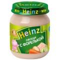 Пюре Heinz Овощи с форелькой с 8 мес.