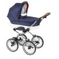 Детская коляска-люлька Navington Caravel на больших колесах (колеса 35 см.) (арт. NAV_W-WDZ02)