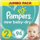 Подгузники Pampers New Baby-Dry 4-8 кг. / (3-6 кг.)