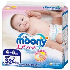 Подгузники Moony 4-8 кг.