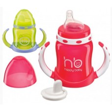 Поильник Happy Baby с двумя тренировочными клапанами с 6 мес. (арт. 14005)