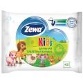 Детская влажная туалетная бумага Zewa Kids