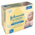 Влажные салфетки Johnsons baby «От макушки до пяточек» без отдушки