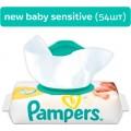 Детские влажные салфетки Pampers New Baby Sensitive