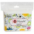 Ватные палочки Maneki Lovely в пакете (белые)