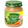 Пюре Heinz Овощной микс с 5 мес.