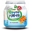 Пюре ФрутоНяня Морковь с 4,5 мес. (б/сах.)