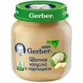 Пюре Gerber Цветная капуста и картофель с 5 мес.