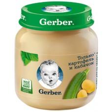Пюре Gerber Картофель и кабачок с 5 мес.