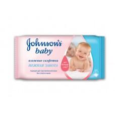 Johnson's baby влажные салфетки «Нежная забота»